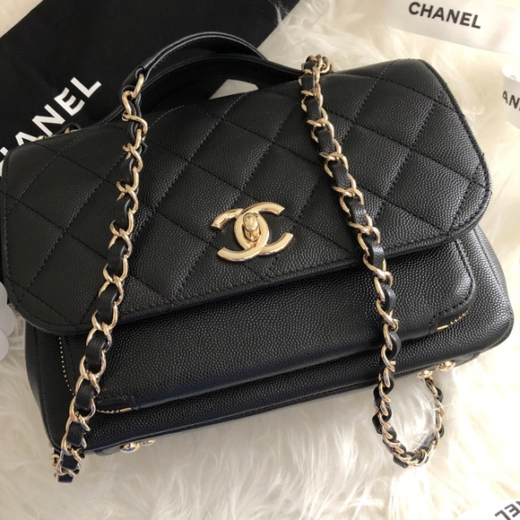 e8d72eb220d1 CHANEL Bags | Bnib Med Business Affinity Black Caviar Ghw | Poshmark
